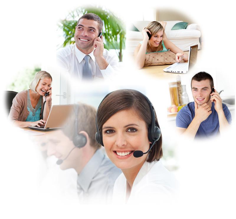 Telefonska komunikacija - Sprejem klicev
